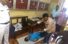 Adhar enrolment of physically challenged and disabled person at District Collectorate Thrissur as part of adalat conducted by District Legal Services Authority and District Administartion - Thrissur - Akshaya: Gateway of Opportunities