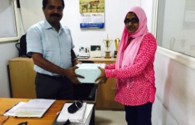 Mrs Ramshida TC secured the first position in India for selling maximum RFID FASTAG as part of National Highways Authority of India - CSC FASTAG project   - Thrissur - Akshaya: Gateway of Opportunities